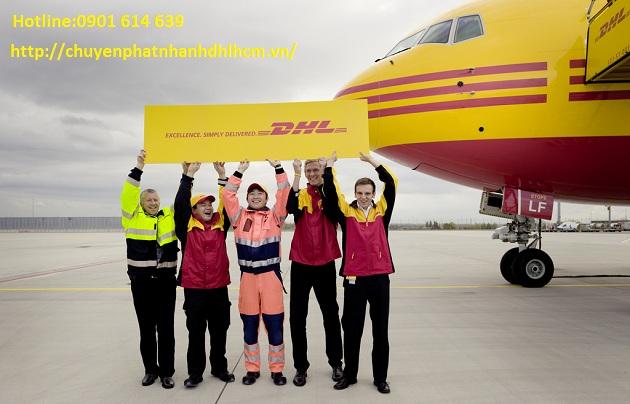 Dịch vụ Quốc tế DHL tại quận 4
