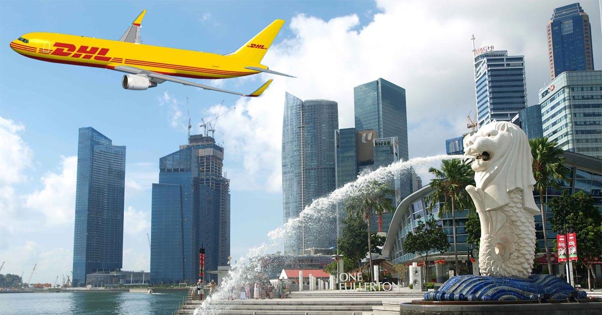 Dịch vụ chuyển phát nhanh DHL đi Singapore tại Hóc Môn chất lượng cao